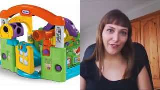 Little Tikes Activity Garden Baby Playset  -  Video Review