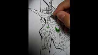 Speed Drawing SDBB Wing Gundam