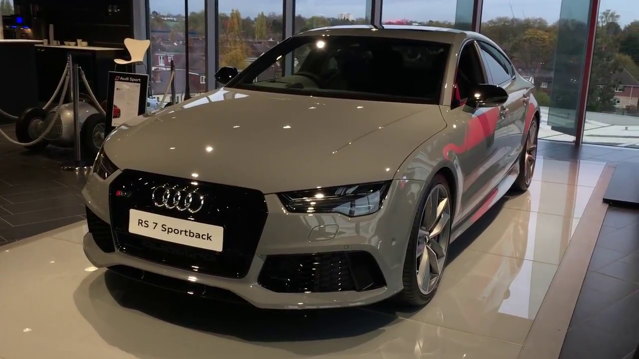 2017 Audi Rs7 Limited Edition Exterior And Interior Review Youtube