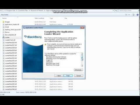 Tutorial flashing blackberry error 507