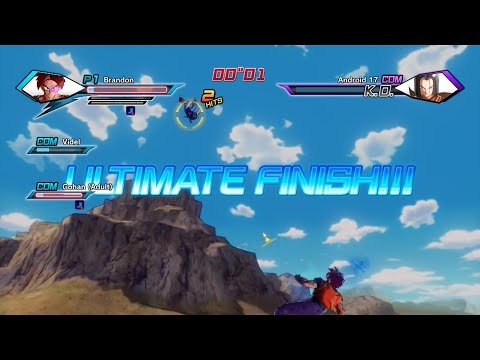 Dragon Ball Xenoverse: Parallel Quest 25 Ultimate Finish (17 & 18 of the Official History)