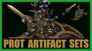 10 Cool Protection Warrior Artifact Sets WoW Legion | Scaleshard & Earth-Warder Transmog