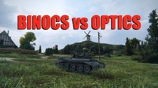 WOT - Binocs vs Optics | World of Tanks
