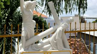 Вьетнам Нячанг № 37 Католический Французский храм. Вьетнамская свадьба.