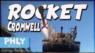 Aircraft Rocket On A Tank   Cromwell Rp-3 Rocket Tank (War Thunder Ground Forces)