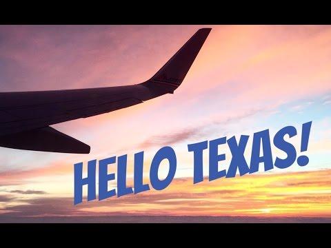 Hello Texas!! Primeiro dia de viagem!