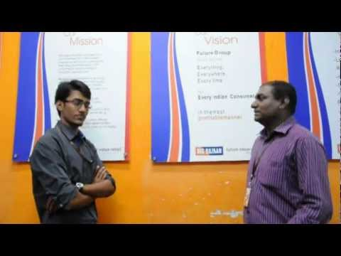 Meeting the Store Manager - Big Bazaar