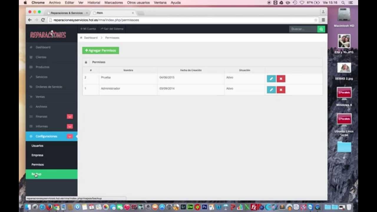 RMA WEB - Sistema Orden de servicio Grátis - PHP e MySQL Software ...