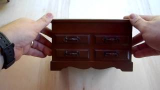Wooden Jewelry Box / Musical Box