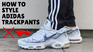 HOW TO STYLE: Adidas Track Pants   Outfit Ideas