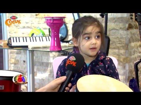 Melis Yüksel Sanat TRT Çocuk Haberde!
