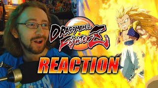 MAX REACTS Lazy Edition Gotenks Reveal Trailer DragonBall FighterZ