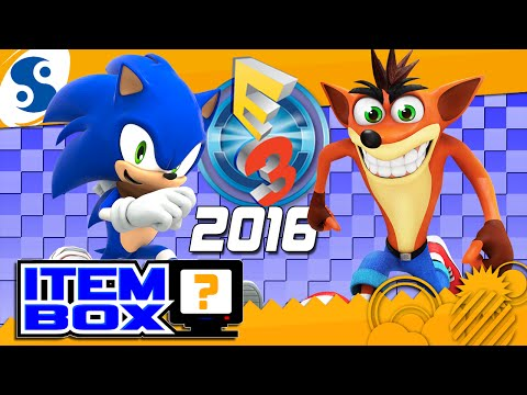 Sonic and Crash @ E3 2016 | ITEM BOX