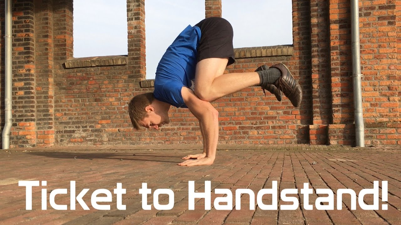 Handstand - the first step to starting a balancing act 32