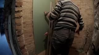 как выровнять стены ванной гипсокартоном!