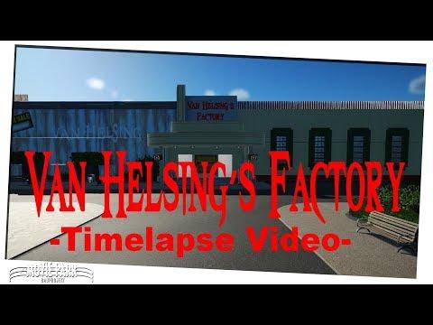 Planet Coaster - Movie Park Germany - Timelaps #5 Van Helsings Factory  [german]