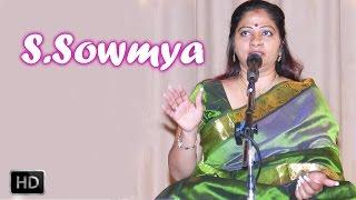 Carnatic Vocal - Eka Dhantham - Om Sri Gananayaka - S.Sowmya