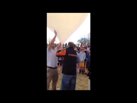 Sandite Science Clyde Boyd Middle School Balloon launch 4-1