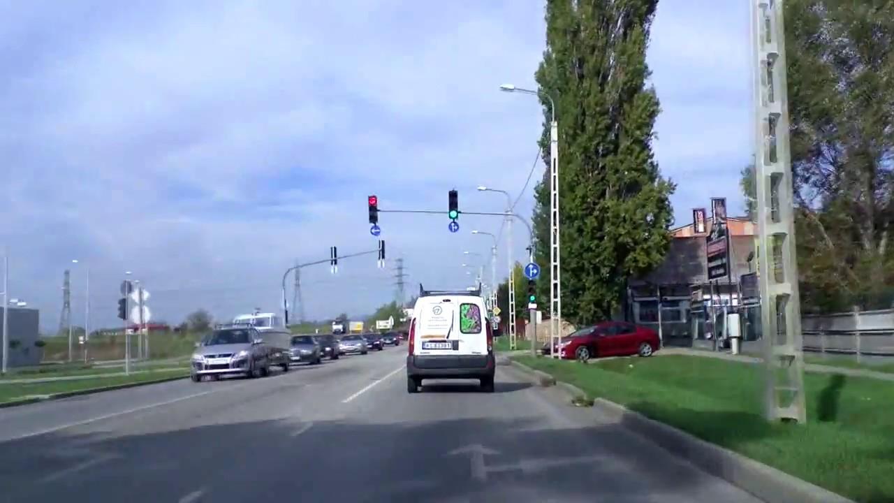 Main road #2 northbound Budapest - Vác /Hungary/