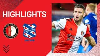 HATTRICK Linssen en HEERLIJK het jaar uit!   Highlights Feyenoord - sc Heerenveen   2020-2021