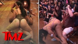 V LIVE STRIP CLUB HAPPY FAN GETS DOUBLE-TEAMED In Wild Memphis Casting Call TMZ