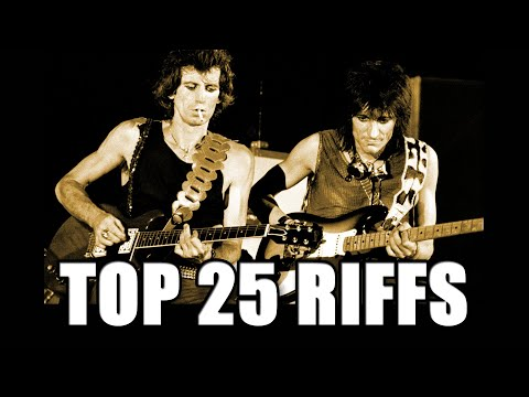 25 Greatest Rolling Stones guitar riffs!