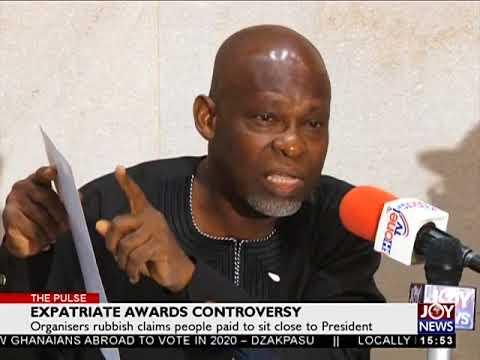 Expatriate Awards Controversy - The Pulse on JoyNews (20-12-17)