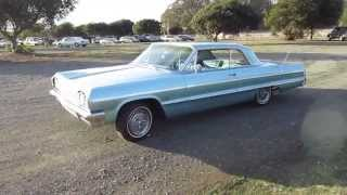 1964 Blue Chevrolet Impala Walkaround