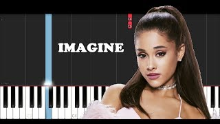 Ariana Grande - Imagine (EASY Piano Tutorial)