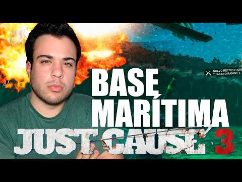 JUST CAUSE 3   BASE MARÍTIMA CON BARCOS   Gameplay Español