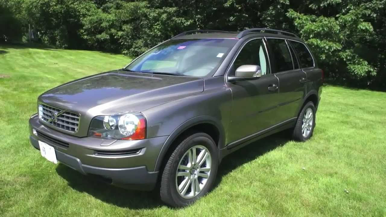 stock 3276a 2009 volvo xc90 3 2 oyster gray for sale scarborough me. Black Bedroom Furniture Sets. Home Design Ideas