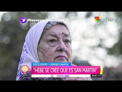 Jorge Jorge Lanata habló de la indagatoria a Hebe de Bonafini