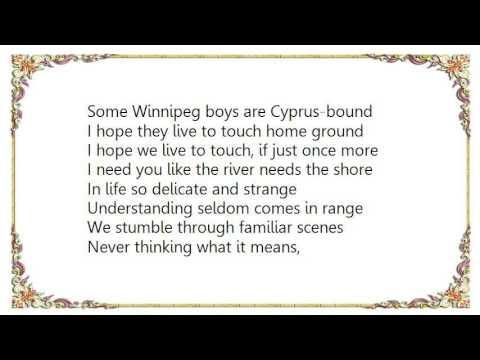 Bruce Cockburn - January in the Halifax Airport Lounge Lyrics