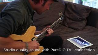 How Plug Your Guitar Ipad And Garageband