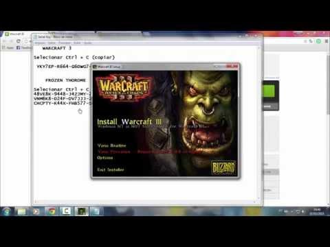 Como baixar e instalar o Warcraft 3 + Frozen Throme  2016 (Atualizado)