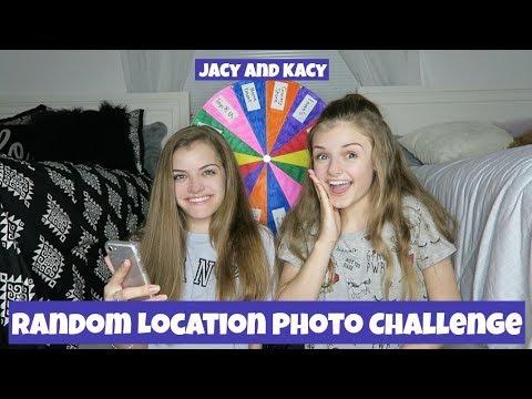 Random Location Photo Challenge ~ Jacy and Kacy