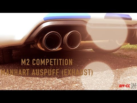 M2 Competition Manhart Auspuff Klang   M2 Competition #Exhaust
