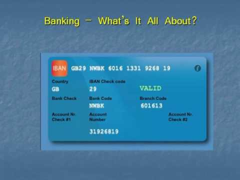 The maths behind international banking codes (IBAN's) - John D. Barrow Gresham College Maths lecture