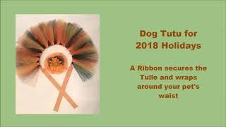 Dog Tutu for Christmas 2018 I Dog Clothes I Dog Clothing I Dog Pajamas