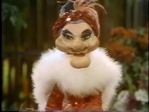 Madame flowers puppet