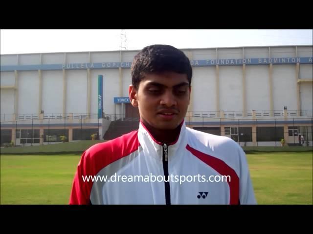 Rising Stars - Indian junior doubles player Santosh Ravuri speaks to DAS