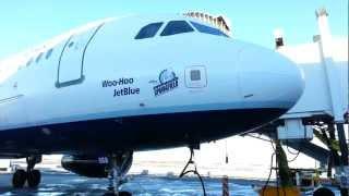 JetBlue Airways A320 Airbus (Springfield - Simpsons) plane at JFK by jonfromqueens