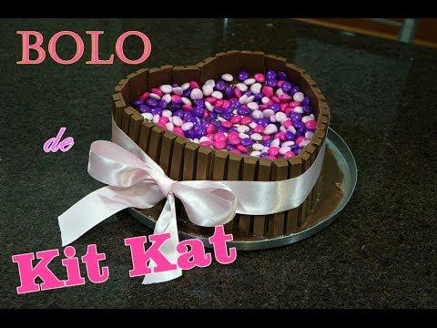 Receitinha ♡ Bolo de Kit Kat | Receita Kawaii | Lari Oyama