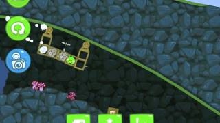 Bad Piggies Flight in the Night Level 4-23 Walkthrough 3 Star
