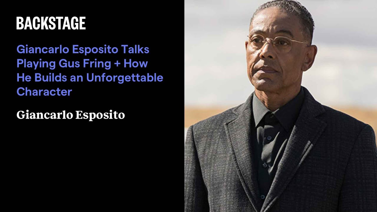 Giancarlo Esposito Talks Playing Gus Fring + How He Builds an ...