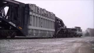 Heavy Haul- CSX Train W991 25