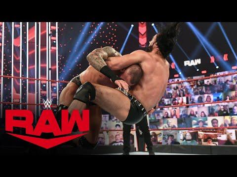 Drew McIntyre vs. Randy Orton: Raw, Feb. 8, 2021