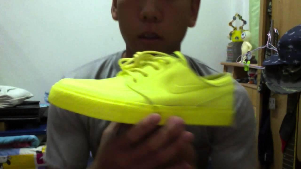 6a8331d4fa Nike Zoom Stefan Janoski Lemon Twist review(thai) + on feet By Sea Sanwich  - YouTube