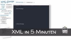 XML in 5 Minuten - Was ist XML? So lernst Du es schnell & einfach