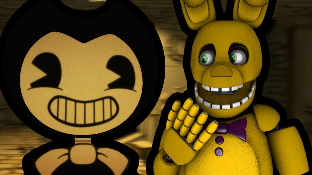 spring bonnie plays bendy and the ink machine demo come visit